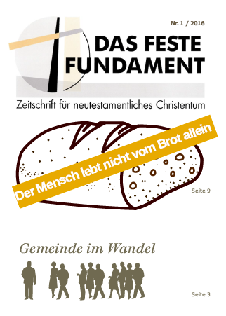 Das Feste Fundament 1/2016